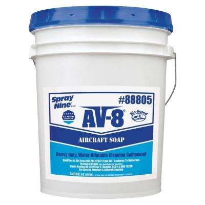 5 Gal. Bio-Based AV8 Aircraft Soap