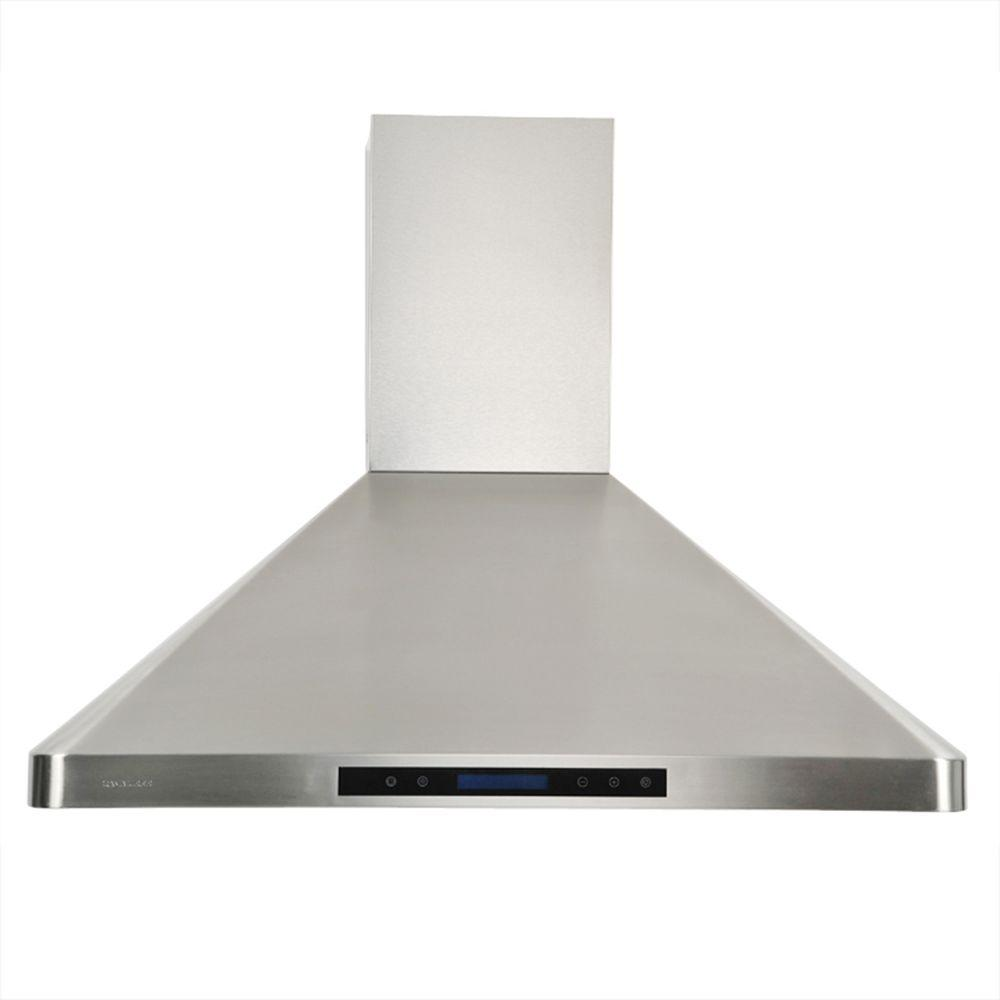 Cavaliere 36 In Range Hood In Stainless Steel Ap238 Ps31