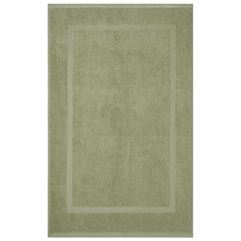 Newport Celery 20 in. x 34 in. Egyptian Cotton Bath Mat