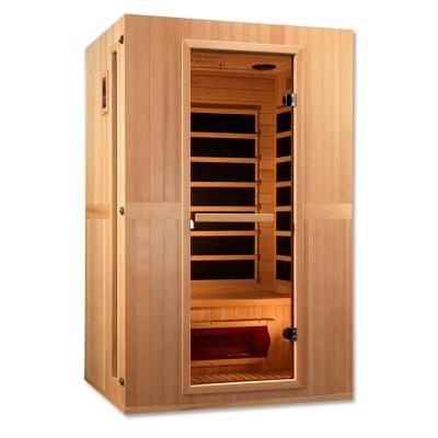 Infracolor 2-Person Far Infrared Sauna with 4 Dual Tech Heaters
