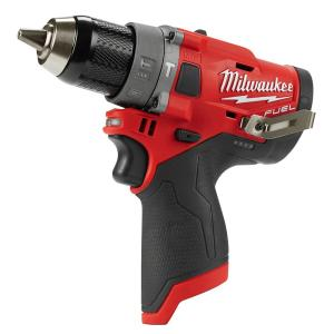 Milwaukee M12 FUEL 12-Volt Lithium-Ion Brushless Cordless 1/2 inch Hammer Drill (Tool-Only) by Milwaukee
