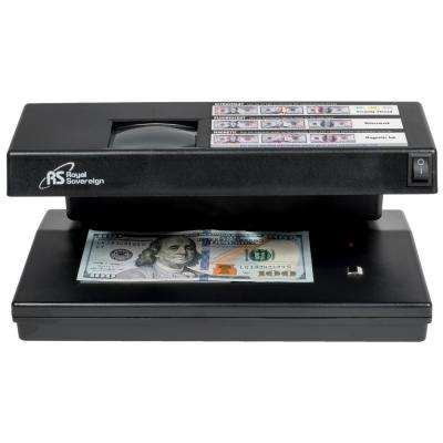 4-Way Ultraviolet Magnetic Ink Fluorescent and Micro Print Counterfeit Detector