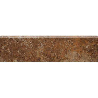 Montagna Belluno 3 in. x 12 in. Porcelain Bullnose Floor and Wall Tile