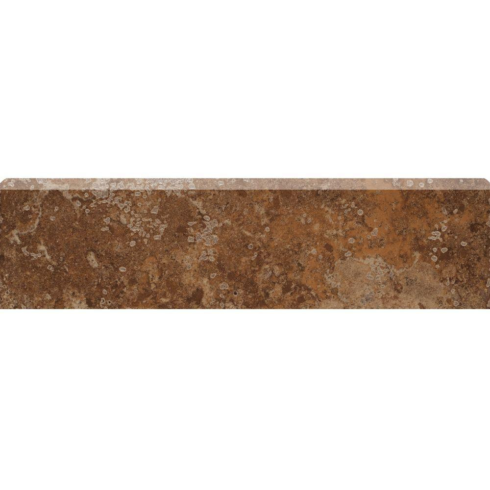 MARAZZI Montagna Belluno 3 in. x 12 in. Porcelain Bullnose Floor and Wall Tile