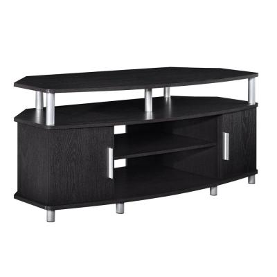 Windsor Black and Metal Accents Storage Entertainment Center