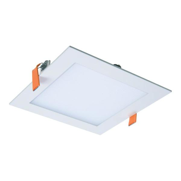 HLB 6 in. Square 4000K Color Temperature New Construction or Remodel Canless Recessed Integrated LED Kit