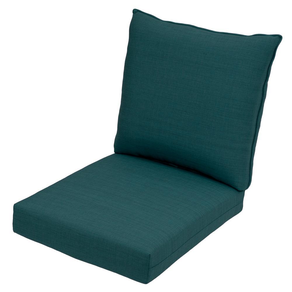 Incredible Hampton Bay Cushionguard Charleston 2 Piece Deep Seating Outdoor Lounge Chair Cushion Pdpeps Interior Chair Design Pdpepsorg