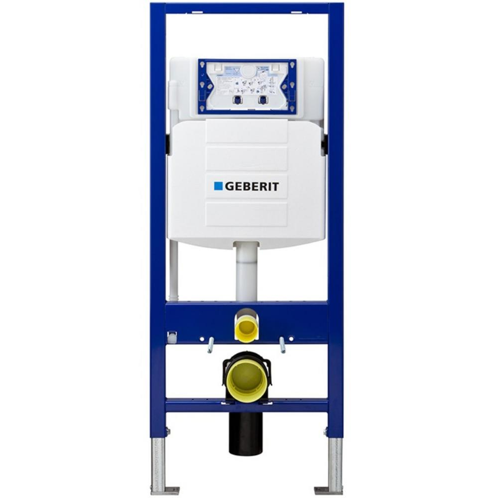 Geberit Duofix 0 8 1 28 Gpf Dual Flush In Wall System With Sigma Concealed Tank For 2x6 Construction White