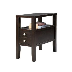 ORE International Brown Storage End Table by ORE International
