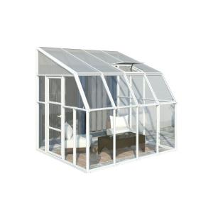 Rion Sun Room 8 ft. x 8 ft. Clear Greenhouse by Greenhouse Supplies