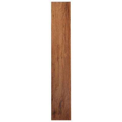 Sterling 2.0 Medium Oak 6 in. x 36 in. Peel and Stick Vinyl Plank Flooring (15 sq. ft. / case)
