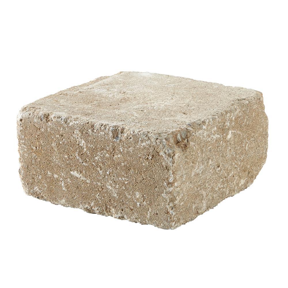 RumbleStone Medium 3.5 in. x 7 in. x 7 in. Merriam Blend Concrete Garden Wall Block