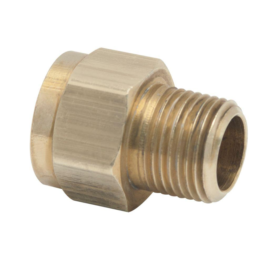 1/2 in. Female Flare x 3/8 in. MIP Brass Gas Fitting