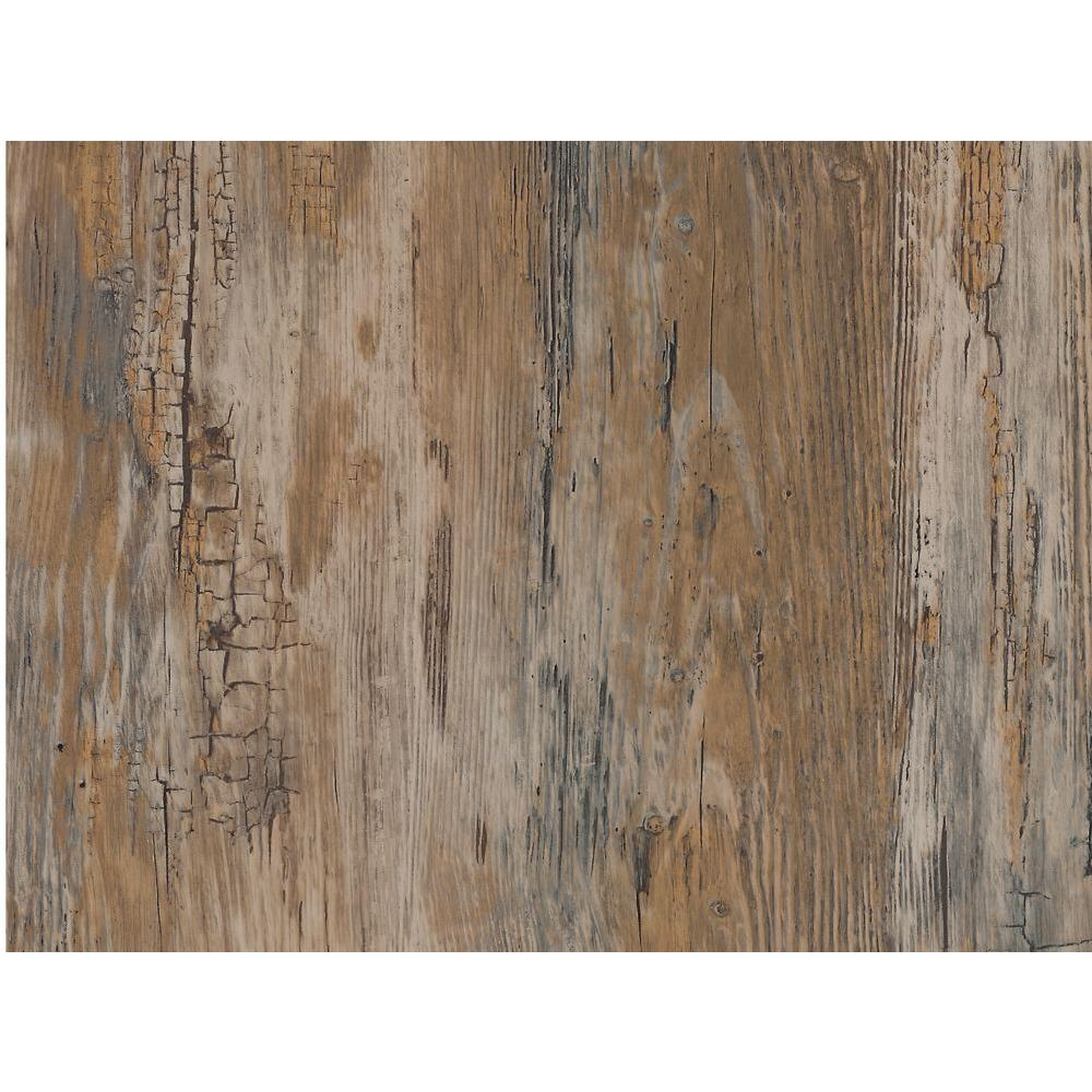 Rustic 17 in. x 78 in. Home Decor Self Adhesive Film