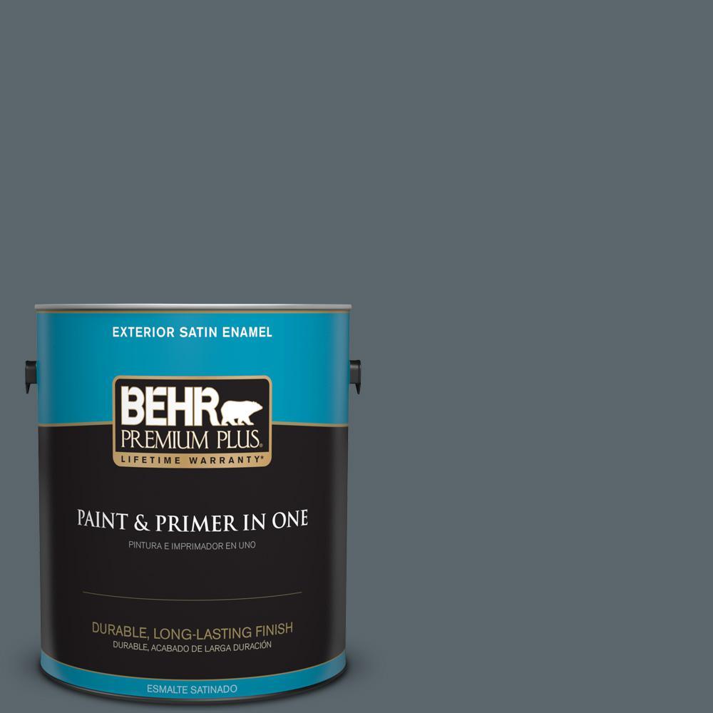 1 gal. #PPU25-20 Le Luxe Satin Enamel Exterior Paint