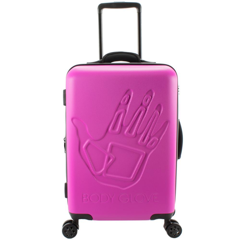 Redondo 22 in. Pink Hardside Luggage