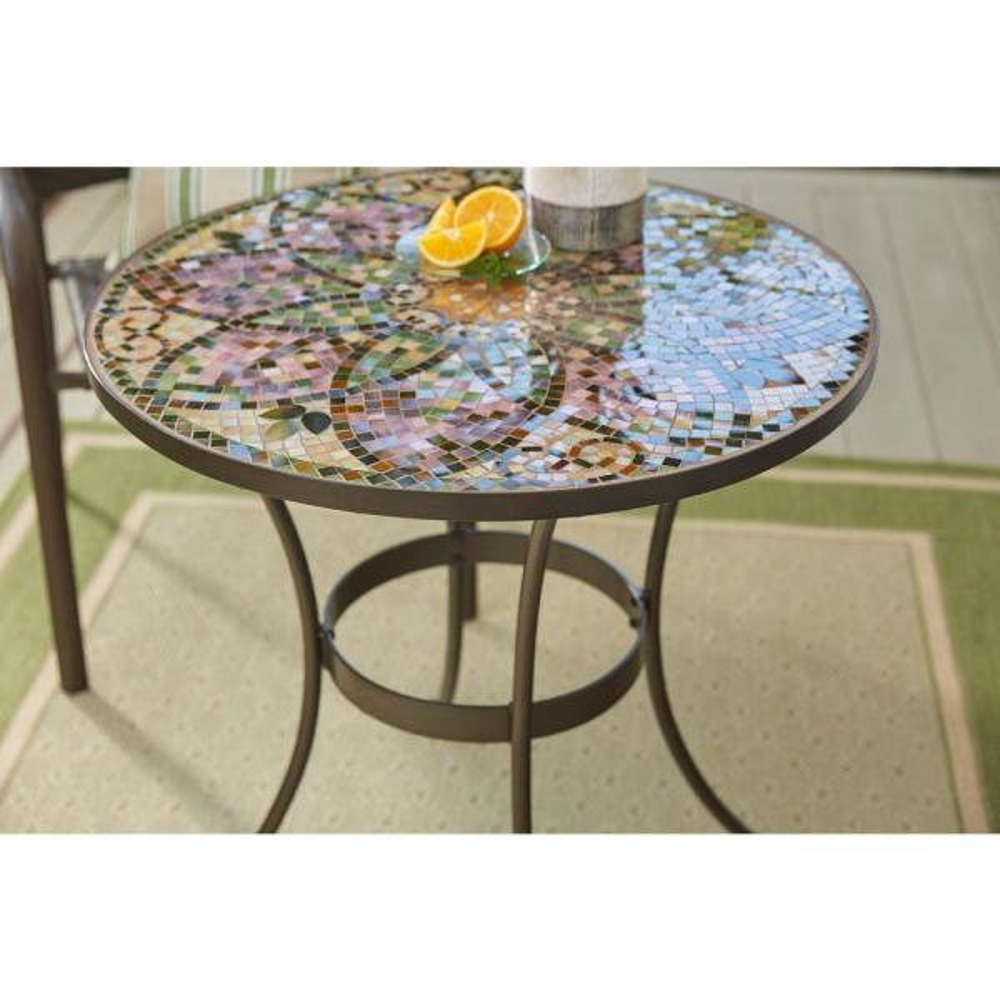 Hampton Bay Gl Mosaic Art 28 In