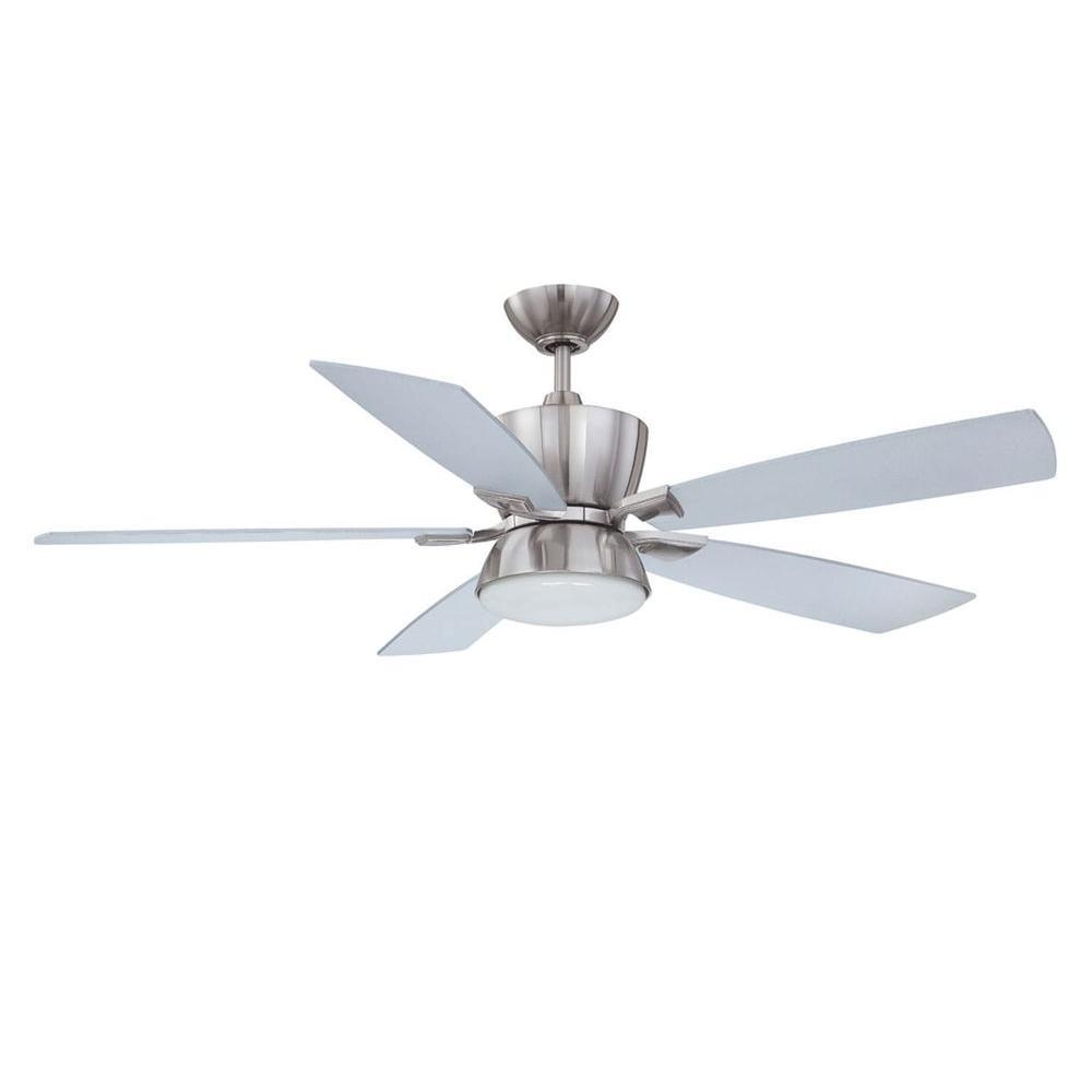 Filament Design Cassiopeia 52 in. Satin Nickel Indoor Ceiling Fan
