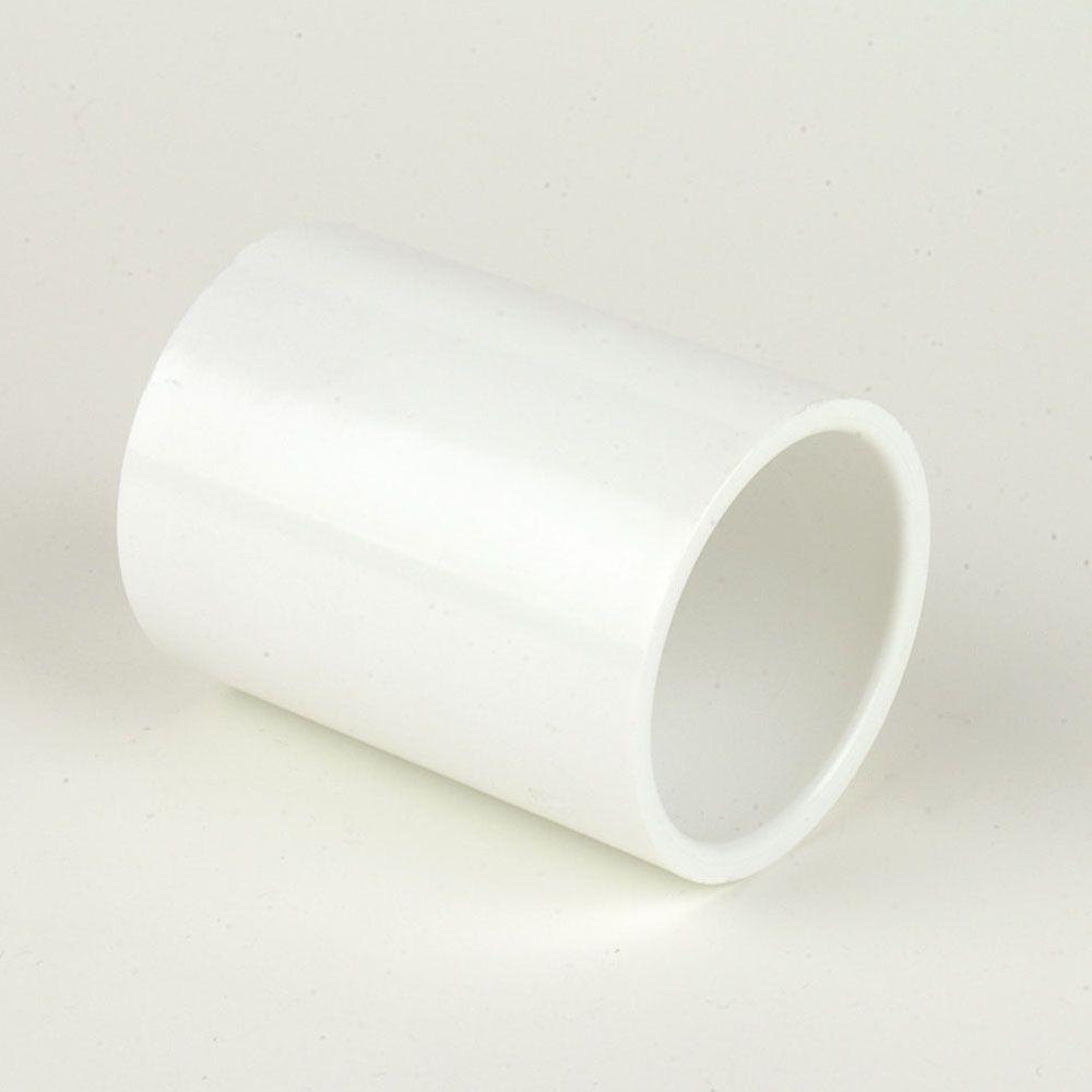 "Slip x Slip Box of 1//2/"" Schedule 40 PVC Pipe Fitting Coupling"