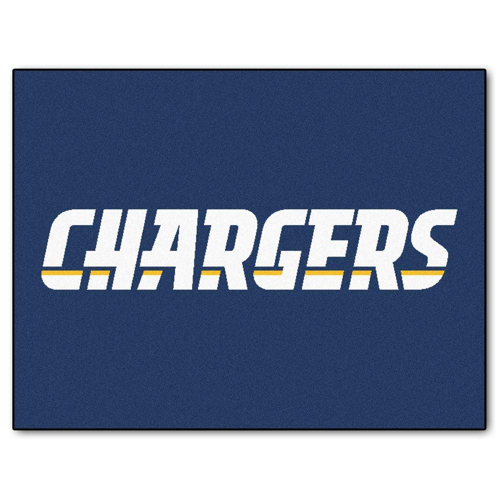 Fanmats San Diego Chargers 3 Ft X 4 Ft All Star Rug 5846