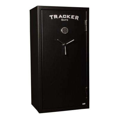 24-Gun Fire-Resistant Electronic Lock, Black Powder Coat