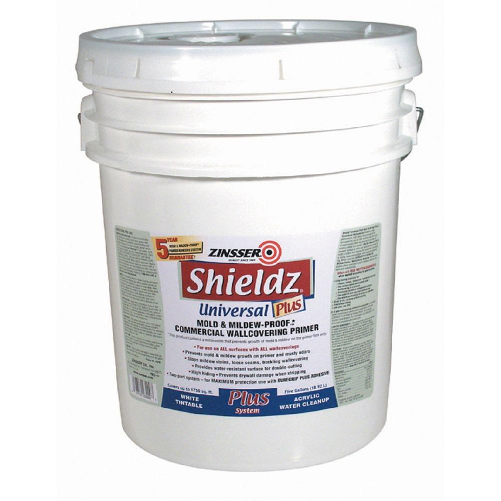 Zinsser Shieldz 5 Gal Interior Universal Plus Mold And Mildew Proof Commercial Wallcovering