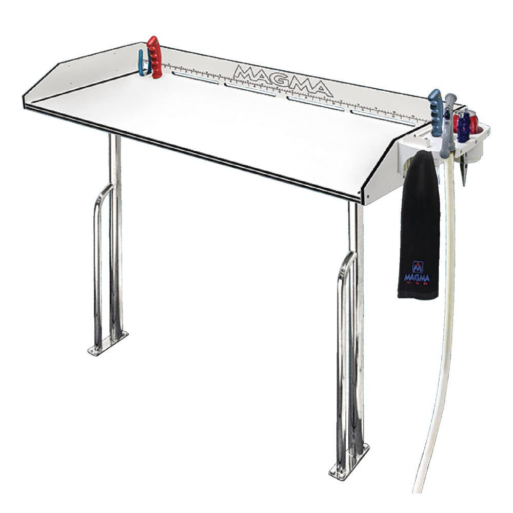 Magma 48 In Hdp Tourament Series Cleaning Station With Stainless Steel Base