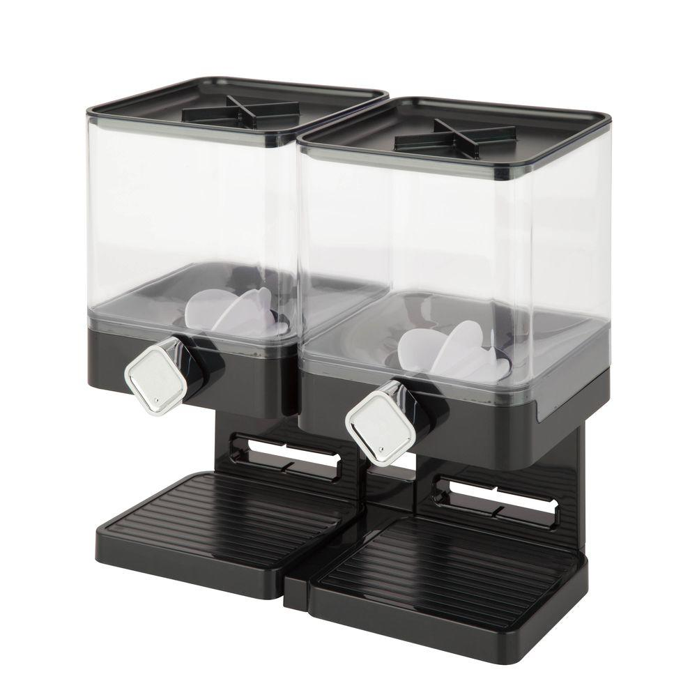 Honey can do compact edition double dry food dispenser in black kch honey can do compact edition double dry food dispenser in black ccuart Image collections