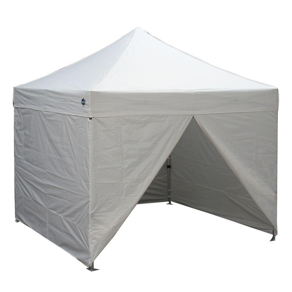 King Canopy 10 ft. W x 10 ft. D Goliath Commercial Fully Enclosed Instant  sc 1 st  Home Depot : enclosed canopy - memphite.com