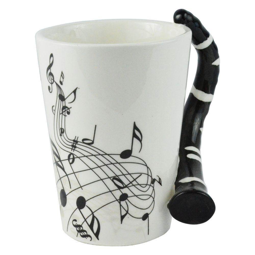 10 oz. Clarinet Guitar Coffee Mug
