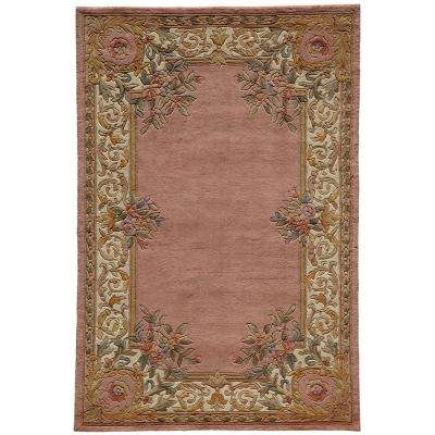 Chateau Rose 5 ft. x 8 ft. Indoor Area Rug