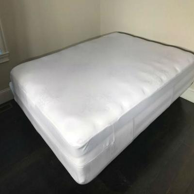Exttlliy Thickening Non-Woven Fabric Folding Bed Dust Proof Cover Rollaway Bed Dustproof Protective Covers Coffee Small