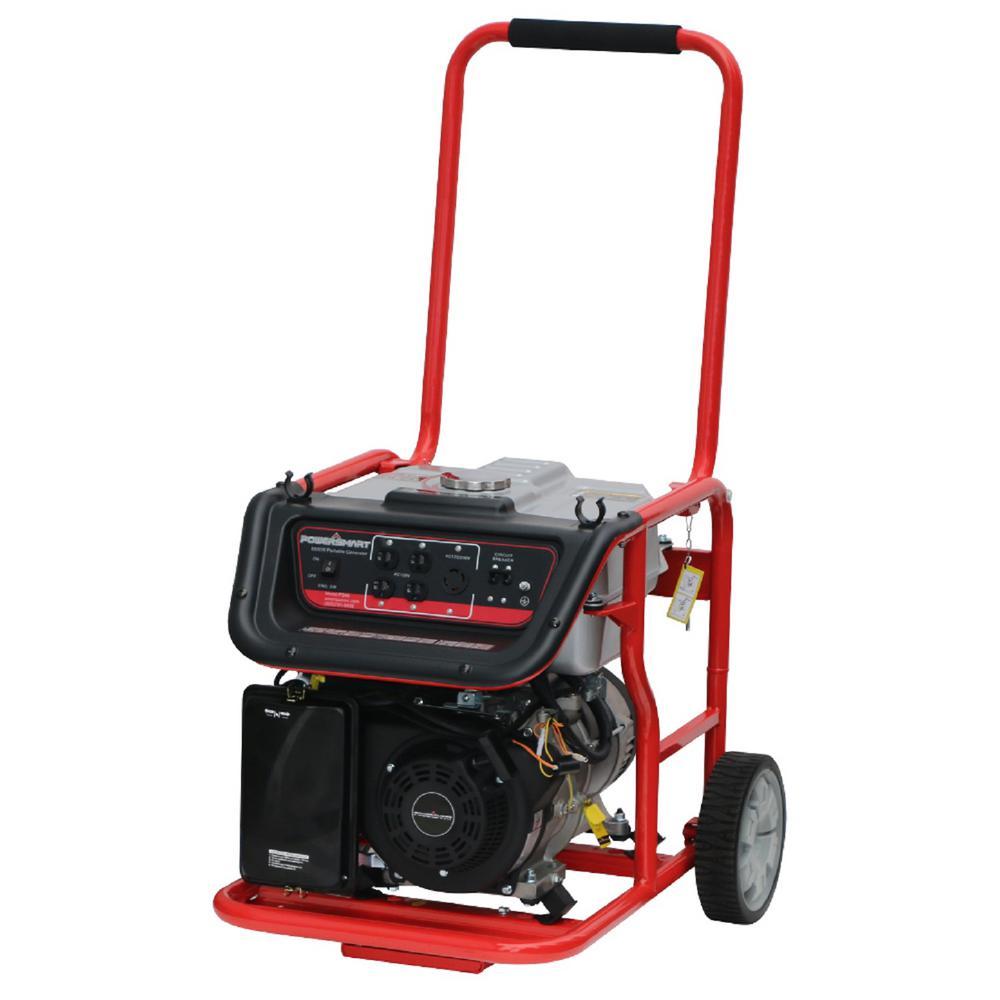 Smart Home Generator : Powersmart watt gas portable generator ps the