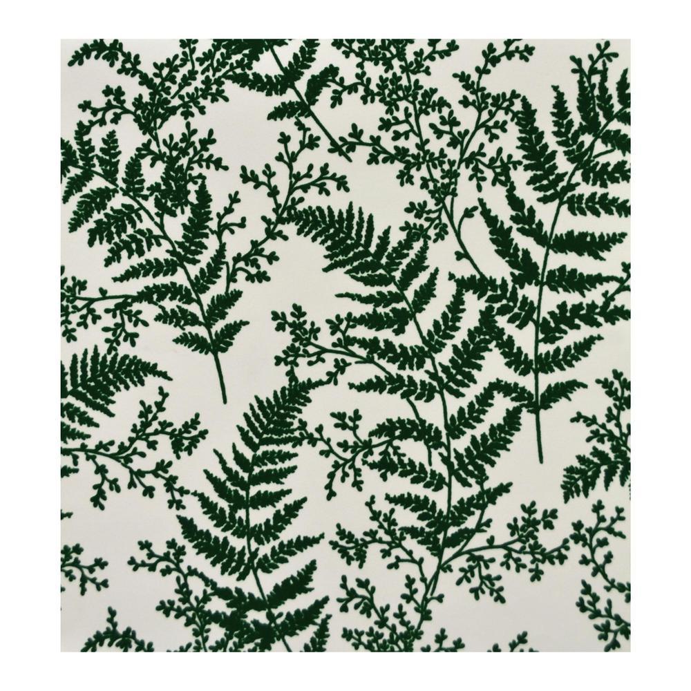 56 sq.ft. Forest Fern Wallpaper