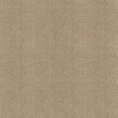 Ribbed Putty Texture 18 in. x 18 in. Carpet Tile (16 Tiles/Case)