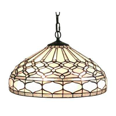 9.5 in. Multicolored Hanging Pendant Lamp