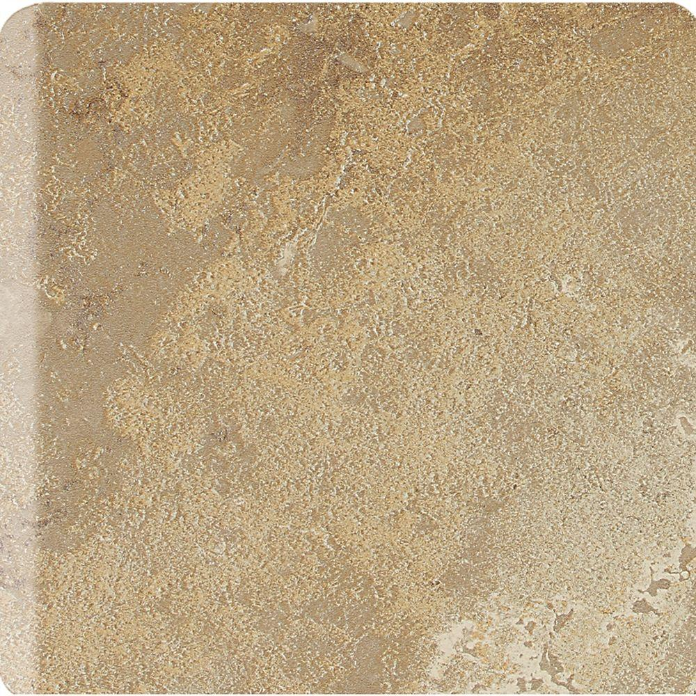 Daltile Sandalo Raffia Noce 6 in. x 6 in. Ceramic Bullnose Wall Tile