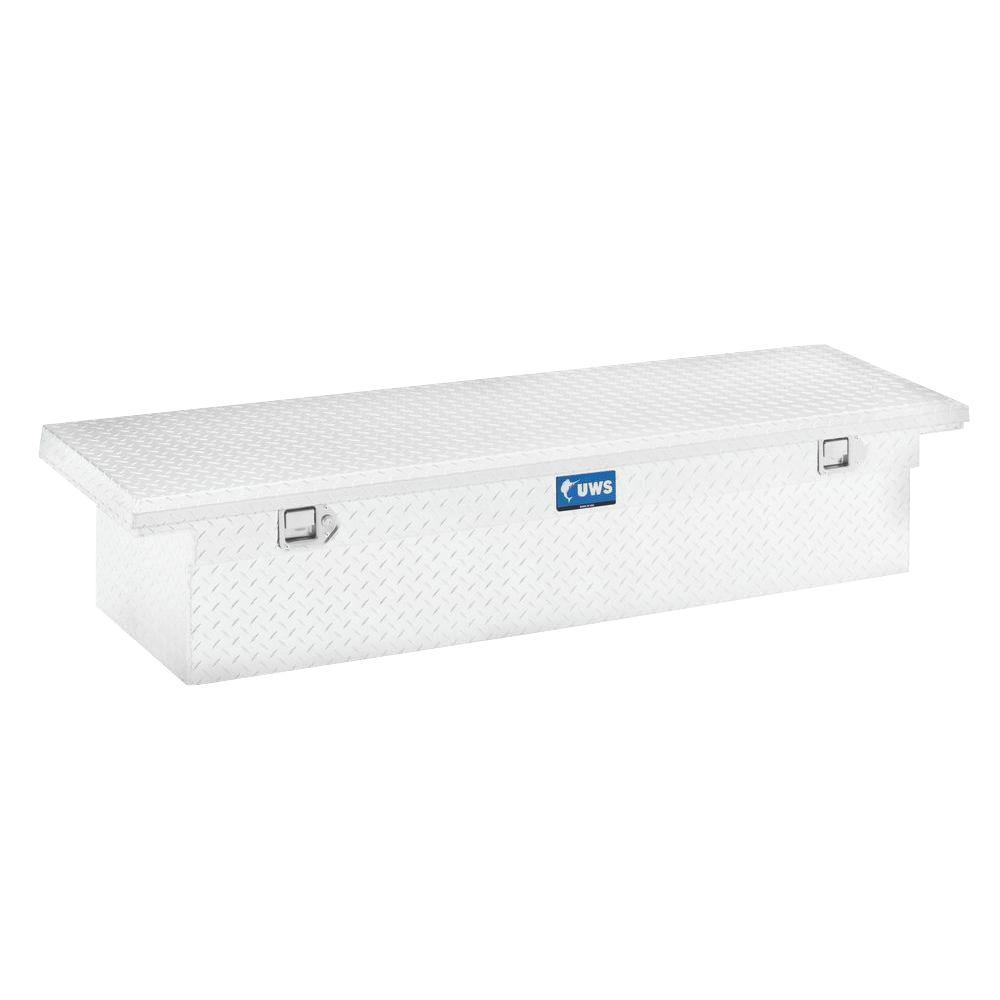 72 in. Aluminum Single Lid Crossover Tool Box with Low Profile