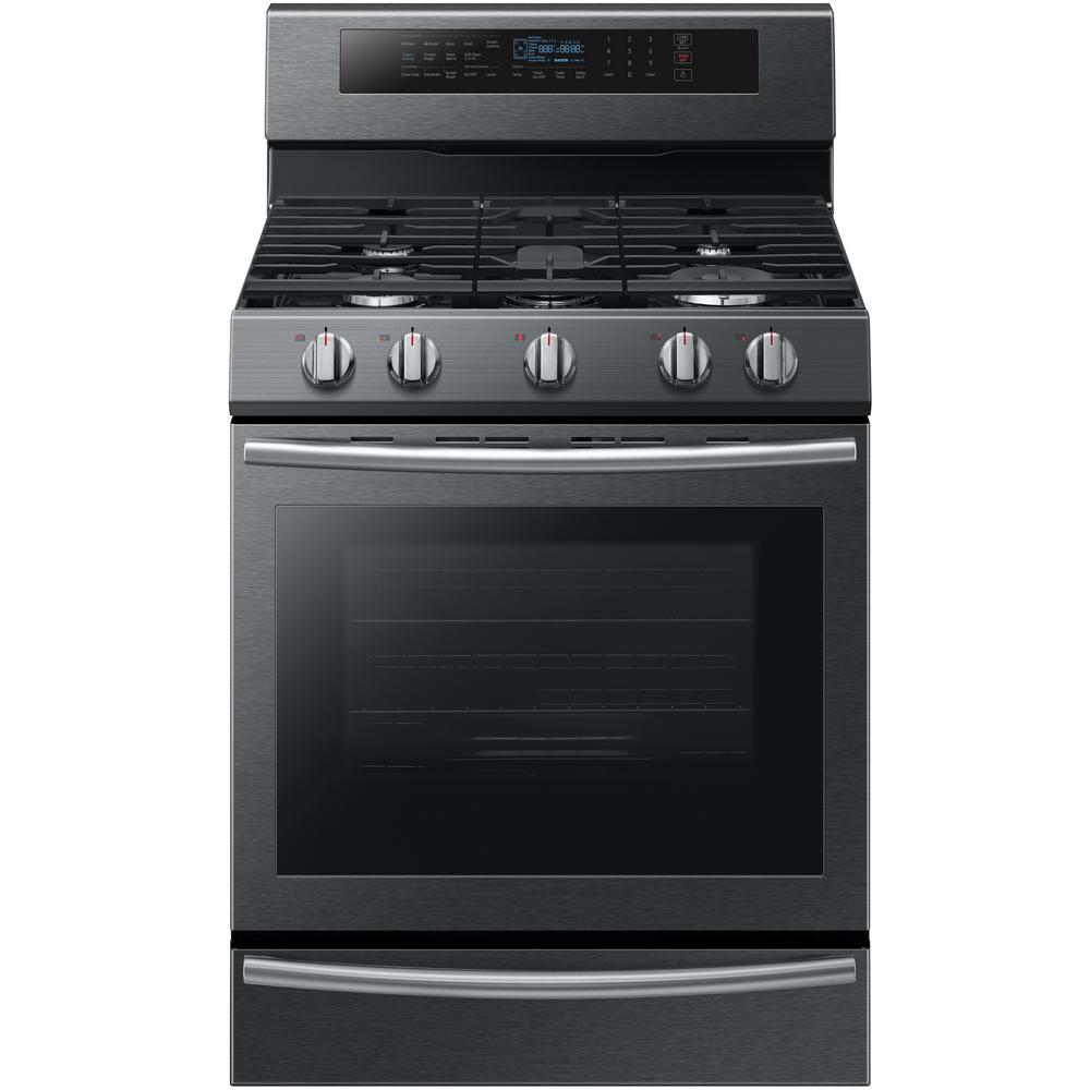 30 in. 5.8 cu. ft. Single Oven Gas Range with True