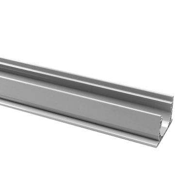 4 ft. x 5-3/4 in. x 3-3/4 in. PVC Channel Drain