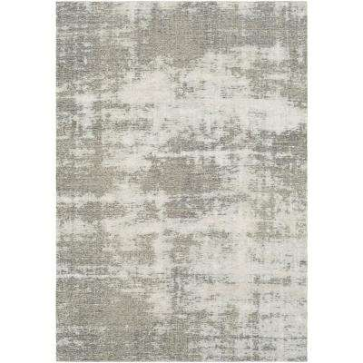 Tamara Charcoal 7 ft. 10 in. x 10 ft. 3 in. Solid Area Rug