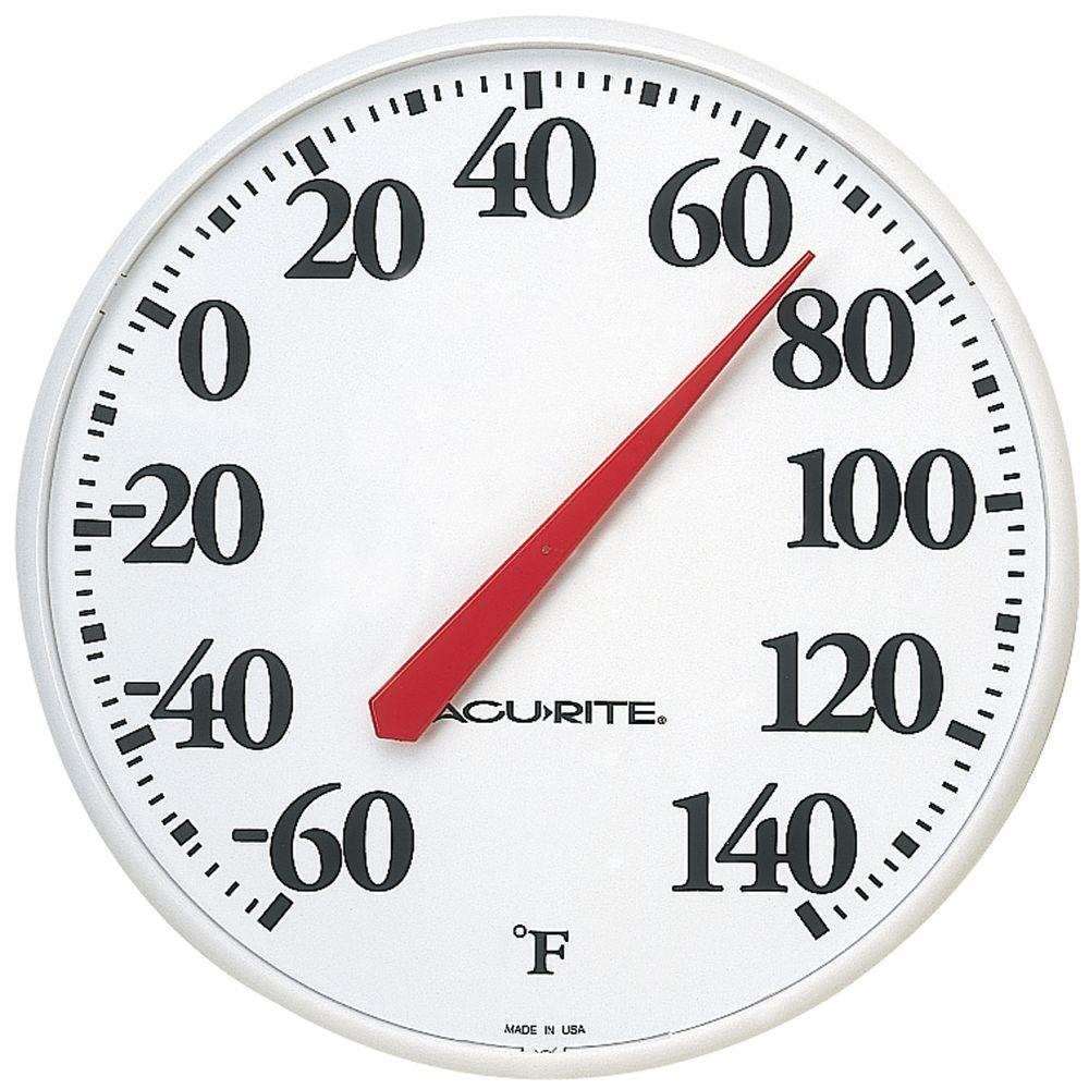 Acurite 125 in thermometer 01360hda2 the home depot thermometer amipublicfo Gallery