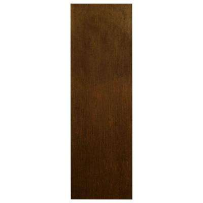 0.1875x36x11.25 in. Cabinet End Panel in Cognac (2-Pack)