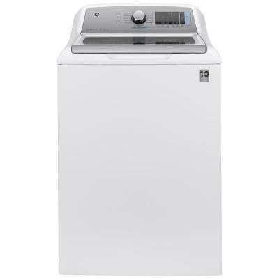 5.0 cu. ft. High-Efficiency White Top Load Washing Machine with Smart Dispense and Sanitize with Oxi, ENERGY STAR