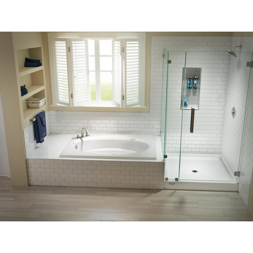 X 36 In Center Drain 6 Shower Base
