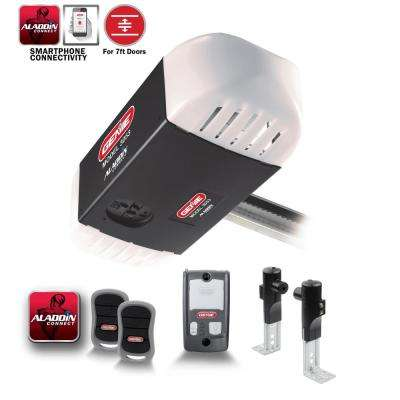 SilentMax Connect 3/4 HPc Belt Drive Garage Door Opener with Aladdin Connect