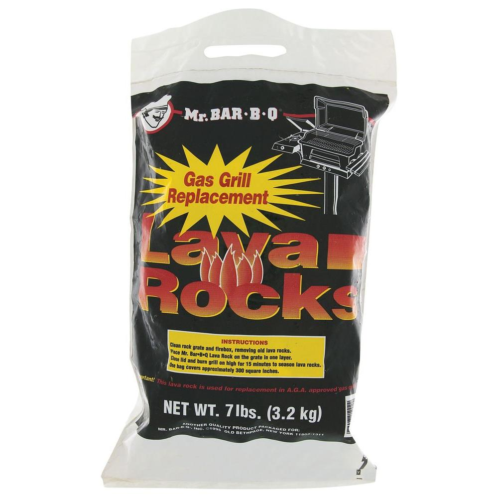 Mr. Bar-B-Q 7 lb. Lava Rock