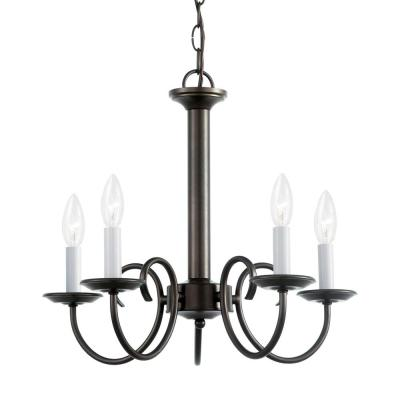Holman 5-Light Heirloom Bronze Chandelier