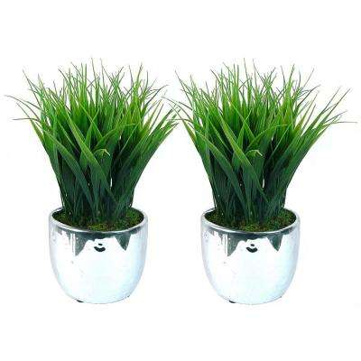 11 in. Grass Plant (2-Pack)