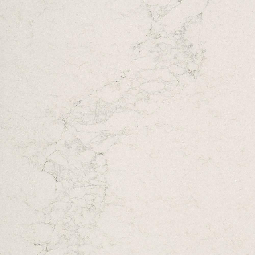 Caesarstone Calacatta Nuvo Price: Caesarstone 10 In. X 5 In. Quartz Countertop Sample In Calacatta Nuvo With Honed Finish-5131H